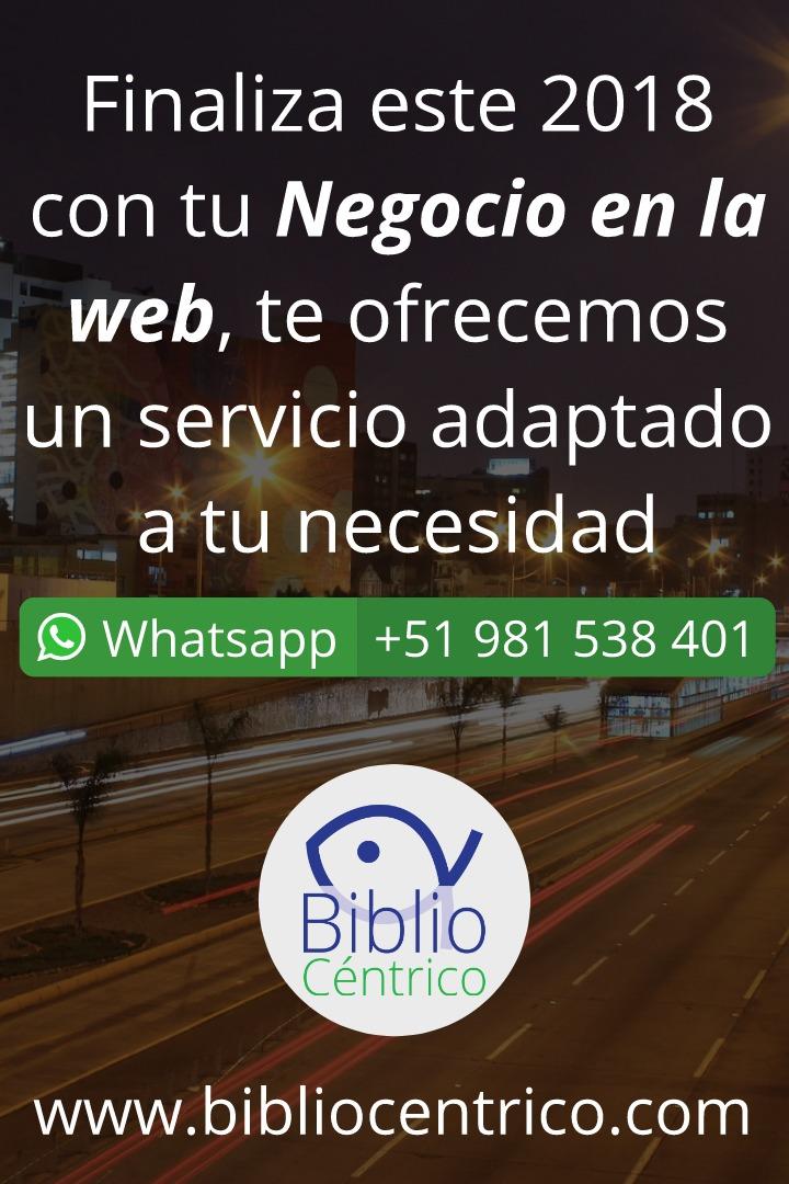 Tu negocio en la web